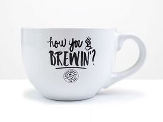 """Limited Edition - Central Perk """"How You Brewin"""" Mug"""