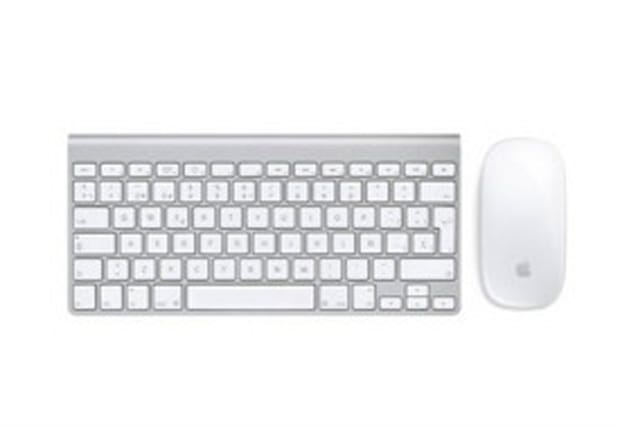 This wireless Apple mouse and keyboard set is over half off - AOL