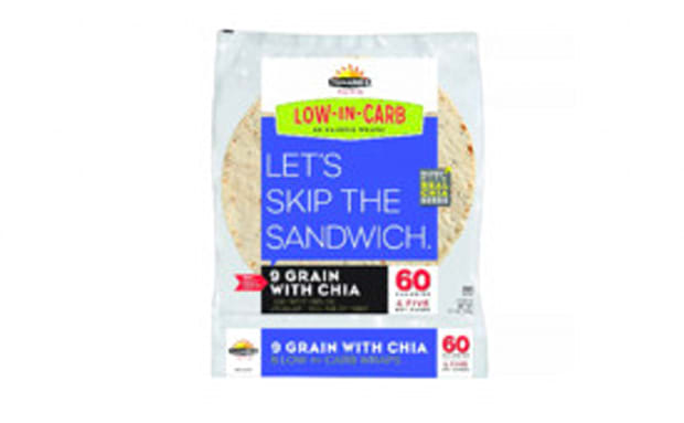 Tumaro's™ Low Carb 9 Grain with Chia Seeds Tortillas