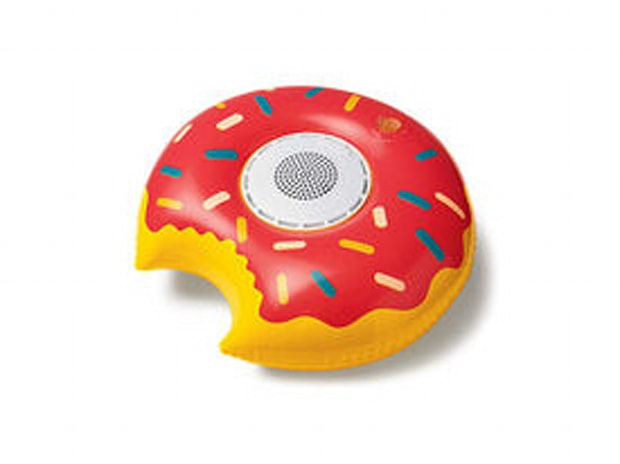 Audio Snax Inflatable Floating Waterproof Bluetooth Speaker