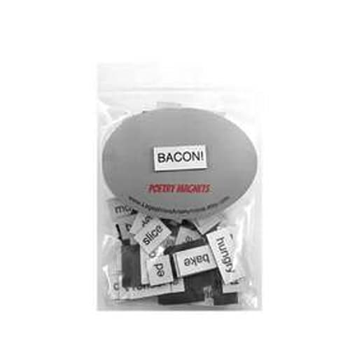 Bacon Poetry Magnets
