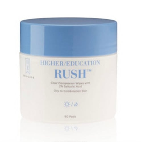 Higher Education RUSH™ Clear Complexion Wipes with 2% Salicylic Acid