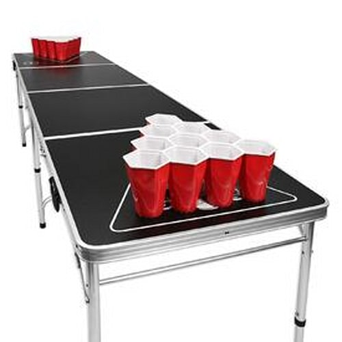 8 Foot Portable Beer Pong Table