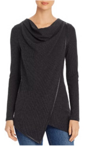 Marc New York Performance, Cowl-Neck Waffle-Knit Top