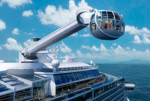 Ten Of The Largest Cruise Ships Ever AOL Travel UK - Largest cruise ship in the world