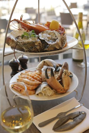 Seafood Afternoon Tea at The Jetty, Devon