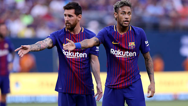 Messi to thrive without Neymar? - Barcelona's MSN in Opta