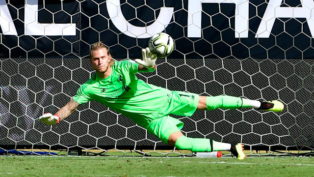 5ecbfd4ca56 Mohamed Salah has told Loris Karius to ignore the hate on social media  after another blunder from the German goalkeeper.