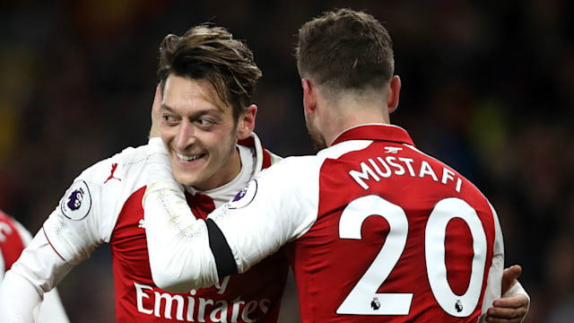 Image result for mustafi emery ozil