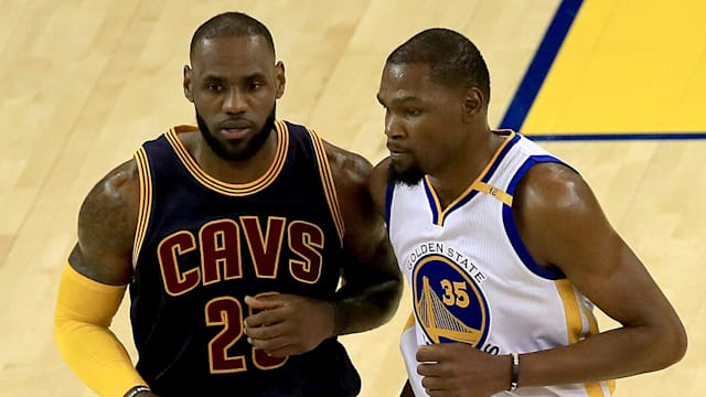 8a8758a15 Cavs can t trade a legend - Durant on LeBron s future - AOL