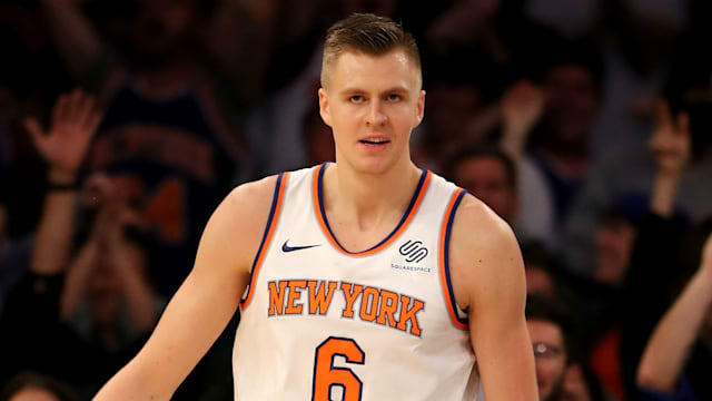 a03fd62bb0a0 Knicks star Porzingis set to miss 10 months after surgery - AOL