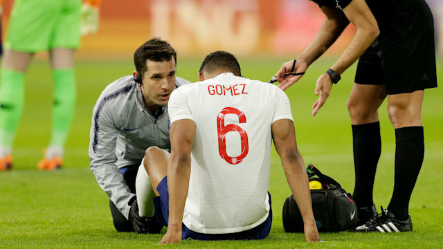 Image result for Liverpool's Joe Gomez ruled out of World Cup after season-ending ankle surgery