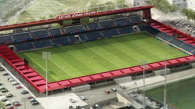 6a024686aa7 The first stone was laid at the site of Barcelona s Estadi Johan Cruyff on  Thursday