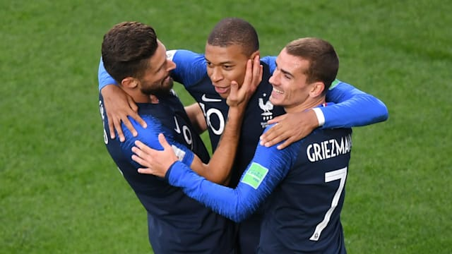 France 1 Peru 0: Mbappe books last-16 spot with record goal
