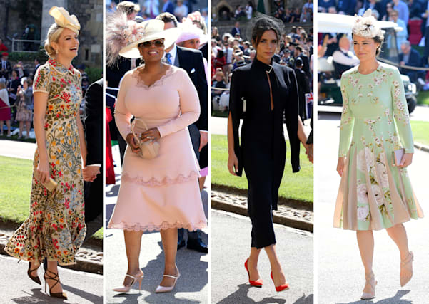 Oprah Winfrey Royal Wedding.Royal Wedding Guests Who Was The Best Dressed Aol