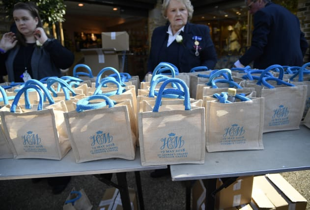 Royal Wedding Guests Sell Gift Bags Online Aol