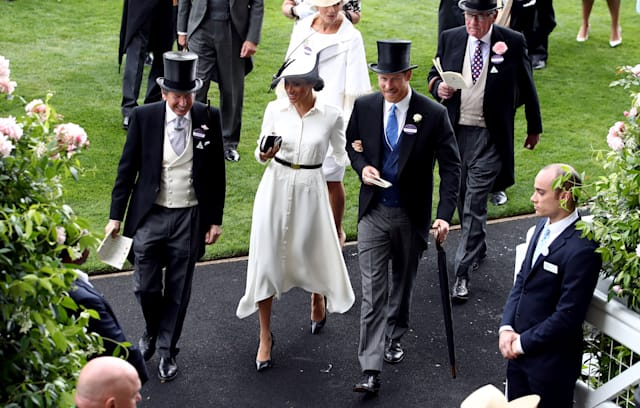 In Pictures  Hats off as Harry and Meghan join the Queen at Royal Ascot 1749b639d970