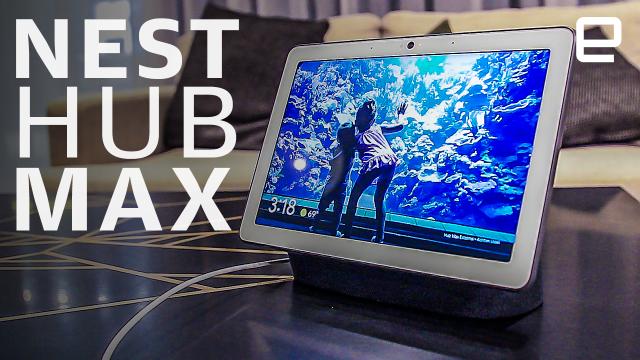Google Nest Hub Max hands-on: A bigger, smarter display