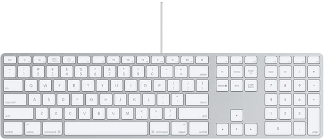 apple keyboard with numeric keypad review engadget. Black Bedroom Furniture Sets. Home Design Ideas
