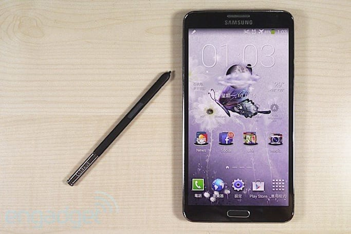 Samsung Galaxy Note 3 評測