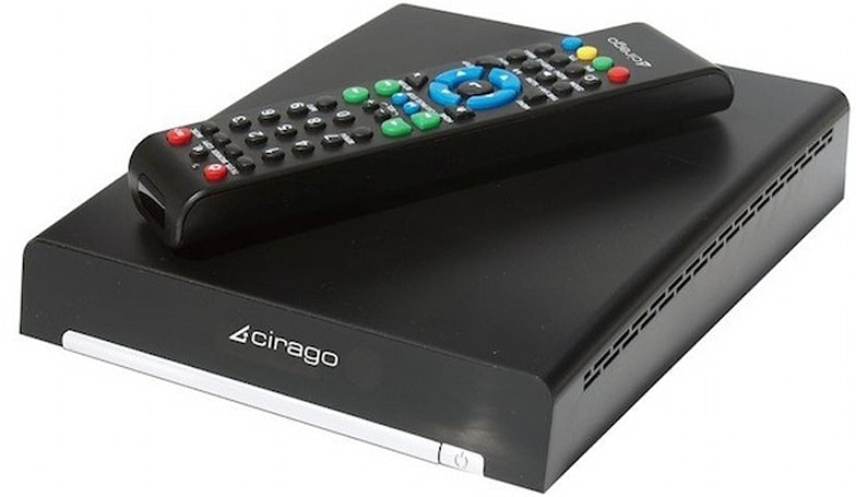 CiragoTV platinum CMC3000 network multimedia center announced to join set top box masses