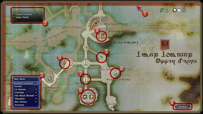 Maps and quest levels explained for Final Fantasy XIV