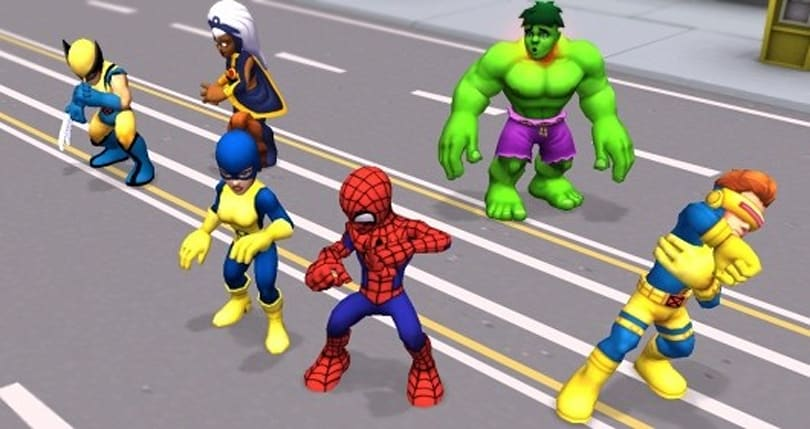Account creation opens wide for Super Hero Squad Online