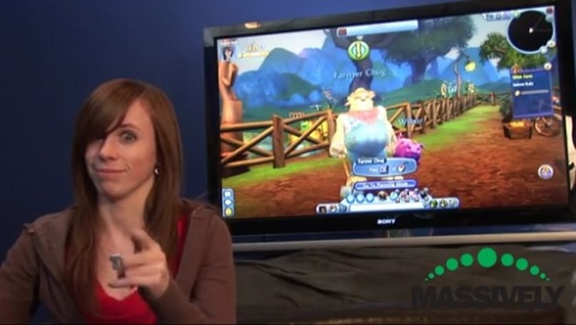 Massively Exclusive: Free Realms' Referee Ruby goes farming