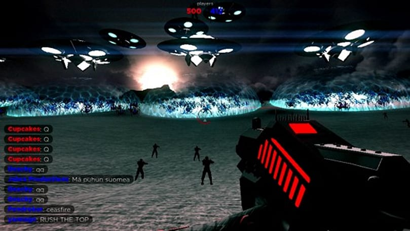 Browser-based FPS sets world record for simultaneous players