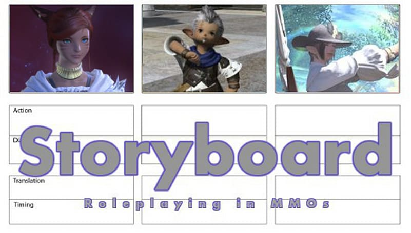 Storyboard: Getting to know you (hopefully)