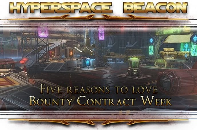 Hyperspace Beacon: Five reasons to love SWTOR's Bounty Contract Week