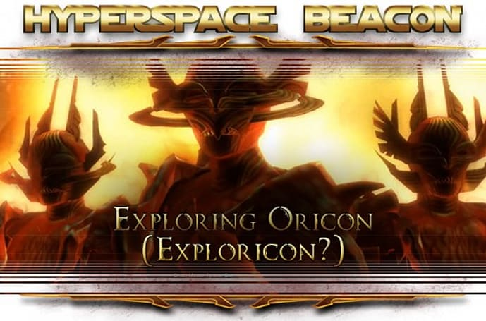 Hyperspace Beacon: Exploring Oricon in SWTOR (Exploricon?)