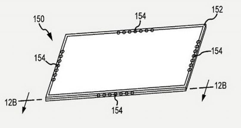 """Apple patent shows new """"smart bezel"""" for tablets"""