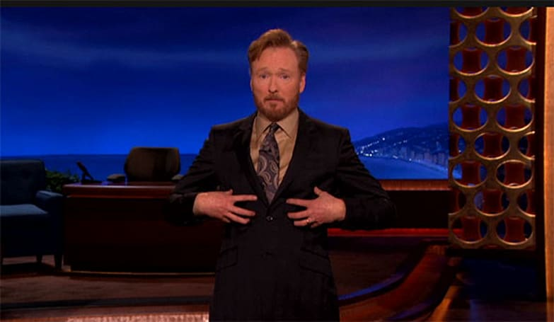 Conan O'Brien pokes fun at iPad 2