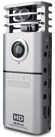 Zoom Q3HD Handy Video Recorder: Review and comparison with iPhone 4 video