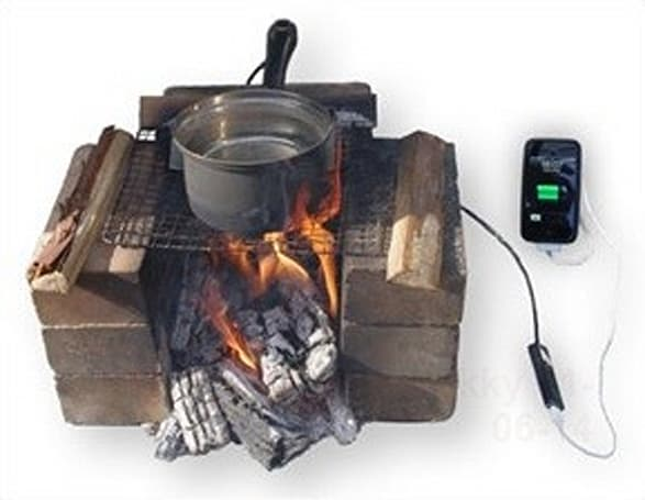 Hatsuden-Nabe thermoelectric cookpot keeps your iPhone battery charged