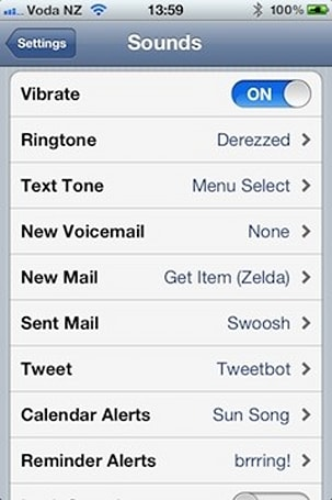 iOS 5 features: Custom notification sounds and alerts now