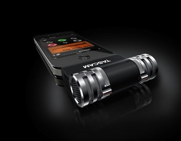 Tascam debuts iM2 stereo condesor mic for iPhone