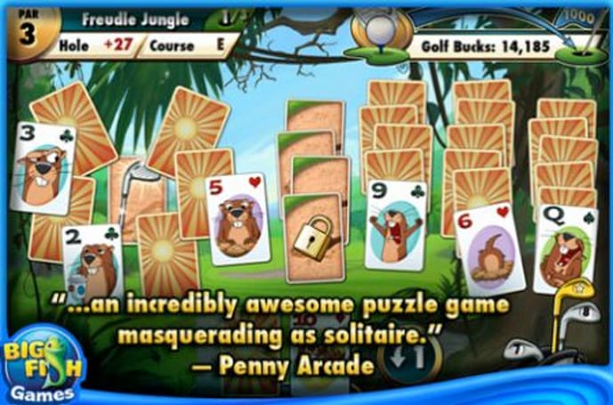 Big Fish Games scores a hit with Fairway Solitaire