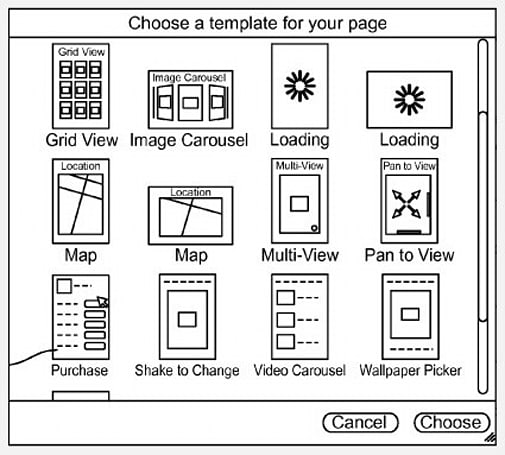 Patent for advanced authoring tool from Apple looks like what iWeb should have been