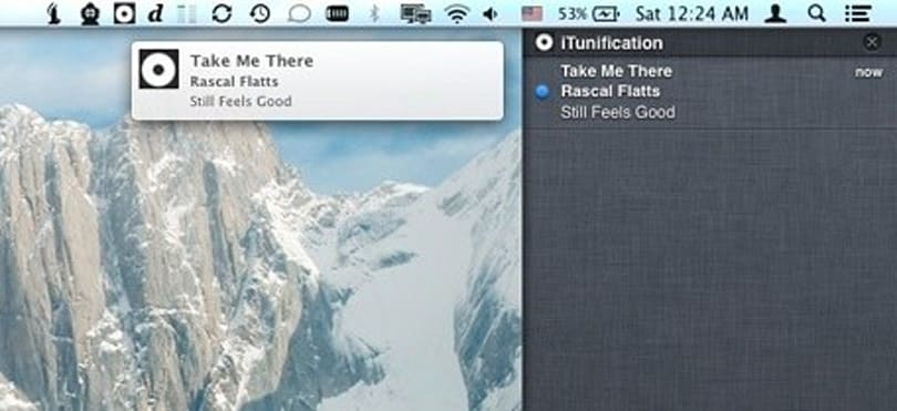How to get Notification Center to show you what's playing in iTunes