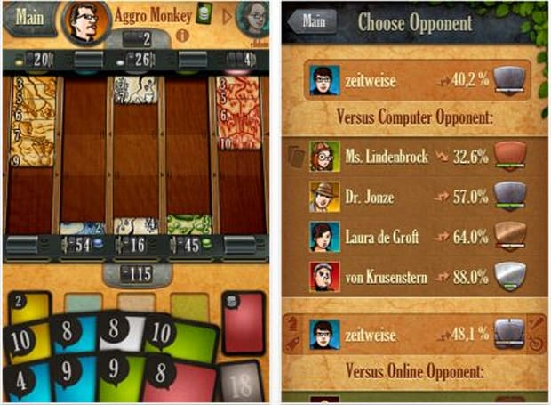 Daily iPhone App: Lost Cities is a great port of a popular card game