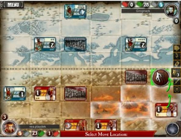 Daily iPhone App: Summoner Wars is a complicated mix of virtual board and card game