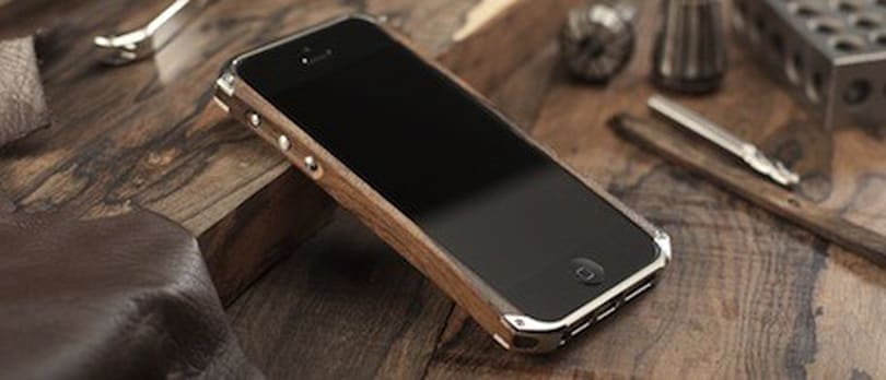 Element Case's Ronin iPhone 5 case: Wood, metal, leather, beautiful