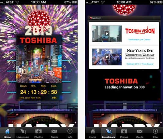 Daily iPhone App: Ring in the New Year with the Official Times Square Ball App