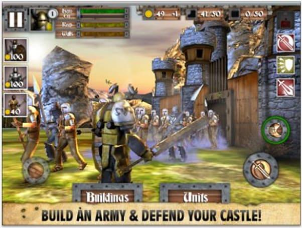 Daily iPhone App: Heroes and Castles combines action and tower defense into one game