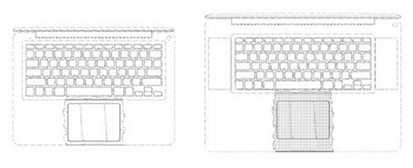 Apple awarded glass-on-metal trackpad design patent