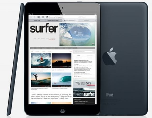 An iPad mini with Retina display could cost $12 more to build