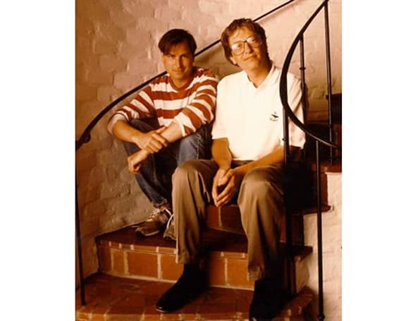 '80s throwback photo of Steve Jobs and Bill Gates (Updated)