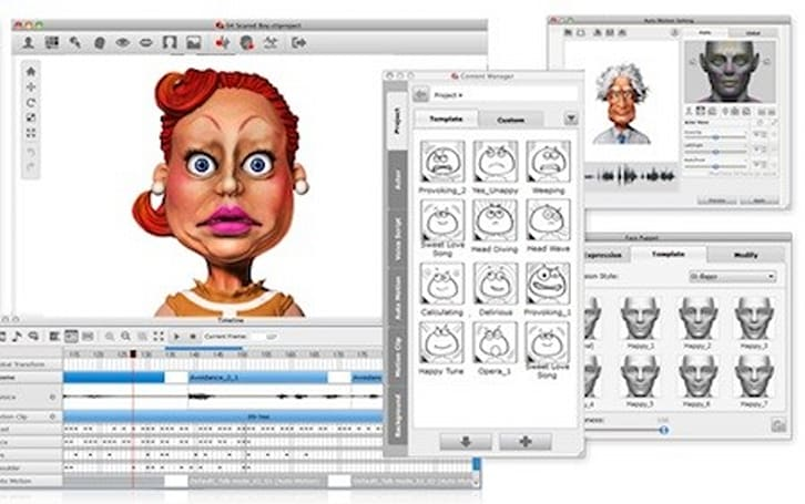 Crazy Talk 7 puts character animation power on your Mac